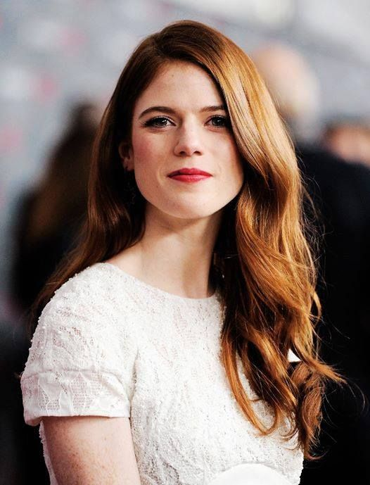 "Rose Leslie (""Ygritte"")- I met her (to my friends: yes, I am STILL talking about it), to everyone else, you know how I can testify to her being a GREAT actress??  In real life... she is LOVELY."
