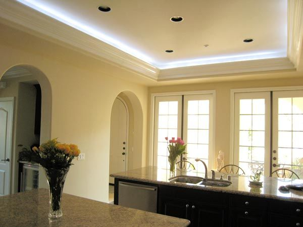 soffit led light images the idea is what the lighting guy suggest great idea however the crown molding is traditional not pinterest