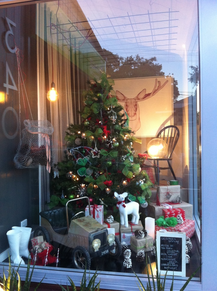 Lovely Freedom Furniture Christmas Tree Part - 3: Christmas Display Window At Luisa Interior Design And Klinge Constructions.  Products From The March Collective