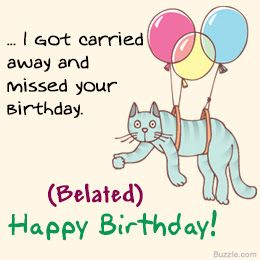 17 Best Ideas About Belated Happy Birthday Wishes On Happy Belated Birthday Wishes To A Friend