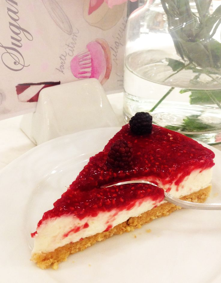 Rasberry cheesecake