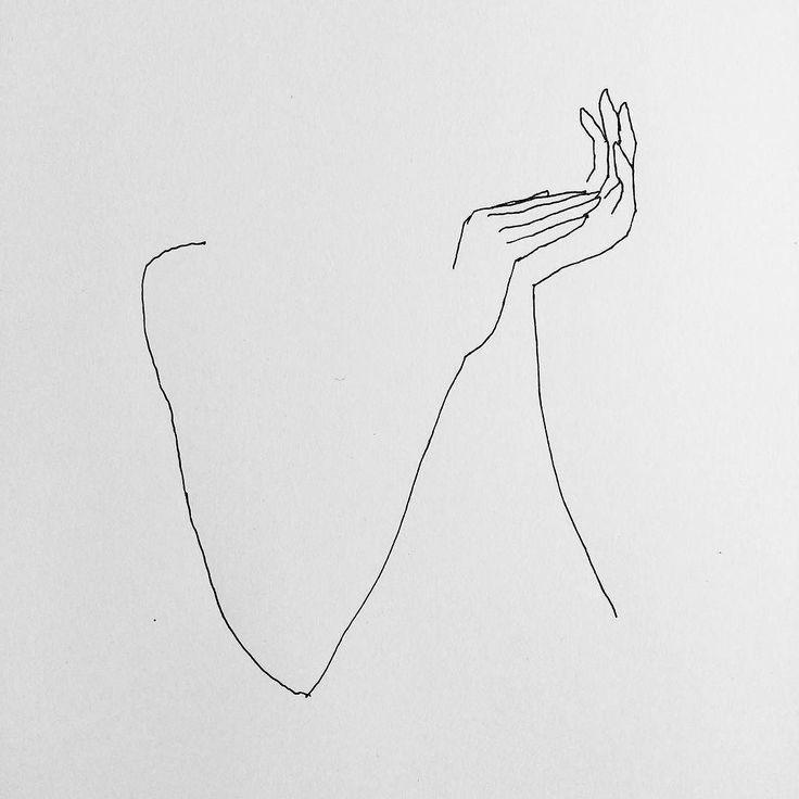 drawing minimalist woman drawings contour thinking desenhos line hands etude simple fredericforest paint minimalistas melhor painting lines visiter linha desenho