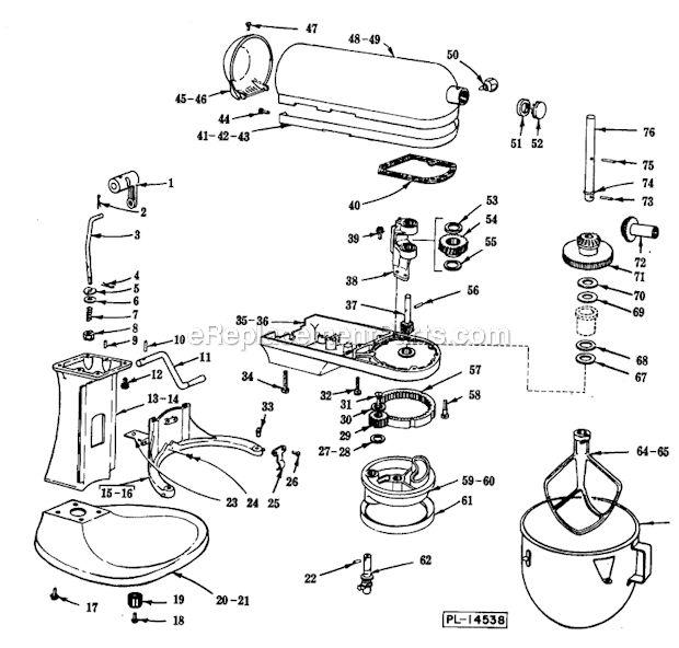 Kitchenaid Artisan Mixer Parts List Kitchenaid Mixer
