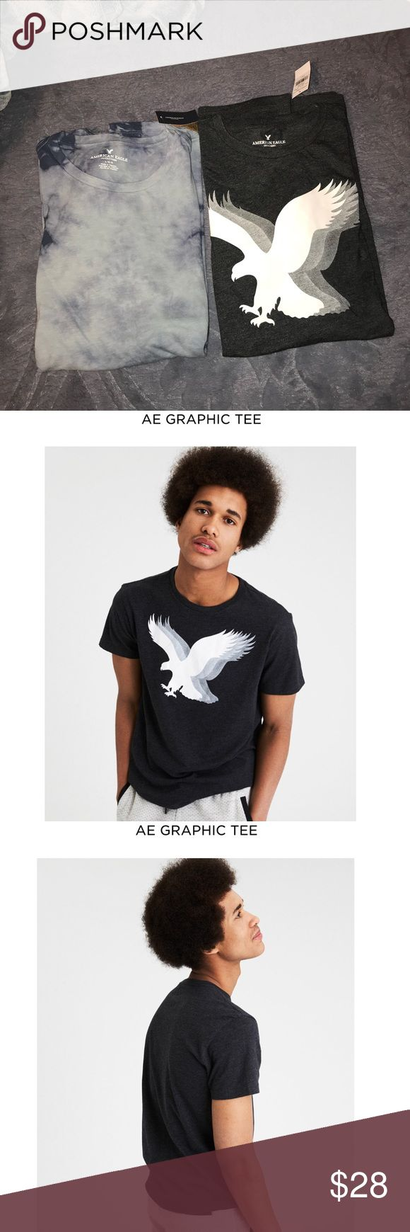 American Eagle Men Shirts Both size large Both brand new with tags Both retail for $25 American Eagle Outfitters Shirts Tees - Short Sleeve