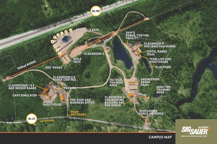 Sig Academy Campus Map