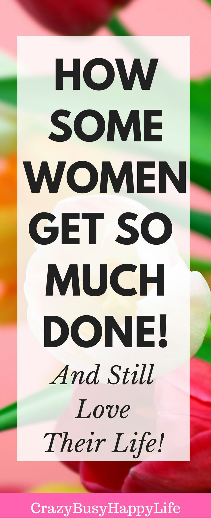 Learn how some women crush time management and get so much done! Here are some steps to make sure that you reach your goals and increase your productivity. Click through to read more. Also, sign up for the free Productivity Boost email course.