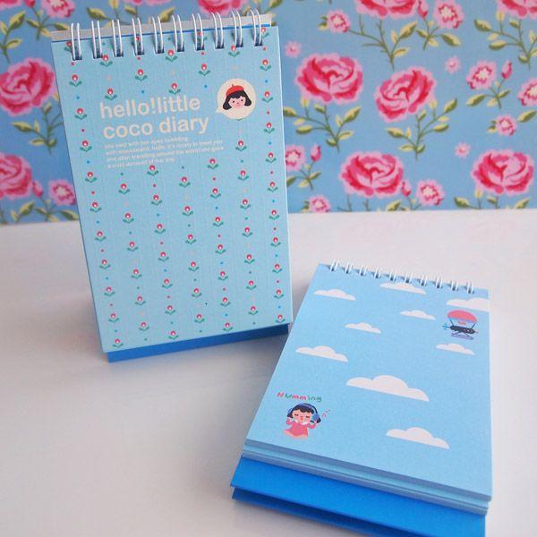 Little Coco Diary Not Defteri (Mavi)