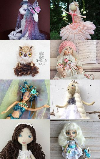 My brown owl was added to Beautiful dolls by Diana on Etsy--Pinned with TreasuryPin.com