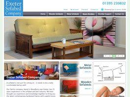 Exeter Sofabed Company - Bespoke Ecommerce Solution