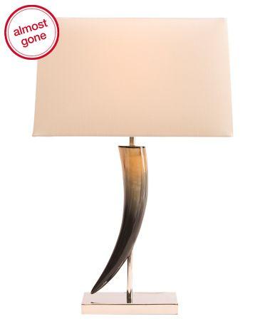 Lamp - Crawl Lamp - TJMaxx - Nightstand Lamp for college guy (LOL)