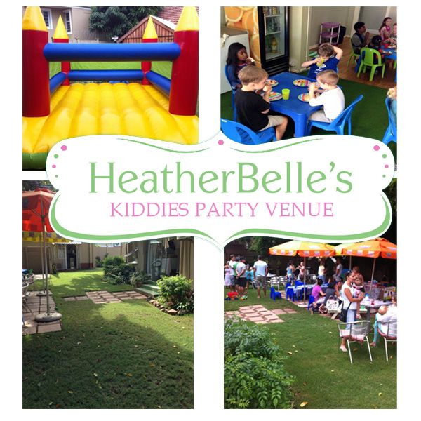 Heatherbelles is a kids party venue in central Durban North where parents come to relax while their little ones play in our indoor and outdoor play area.  We can supply everything you need for a successful party, from play equipment to decor, catering and more. We take all the fuss out of preparing for a party, so you can relax with your friends and family and just enjoy a good day out.