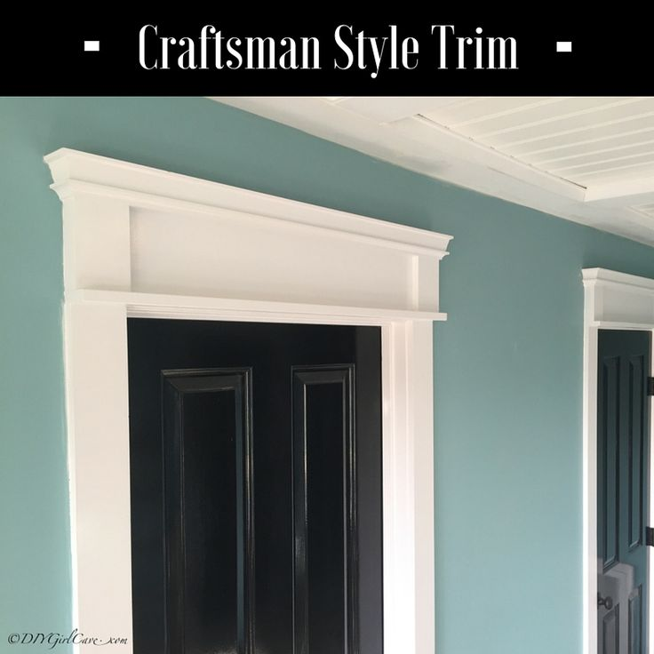 11 best craftsman style trim images on pinterest for Craftsman interior trim