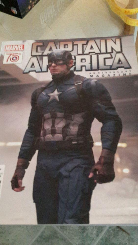 Captain America 75th Anniversary Magazine #1 2016 -new- Marvel Civil War Movie
