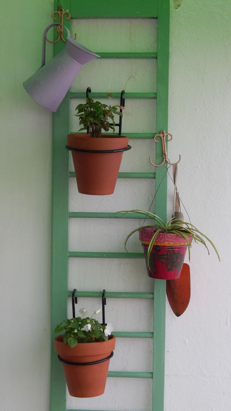 Reciclar una baranda de cuna jardineria pinterest - Barandas de terrazas ...