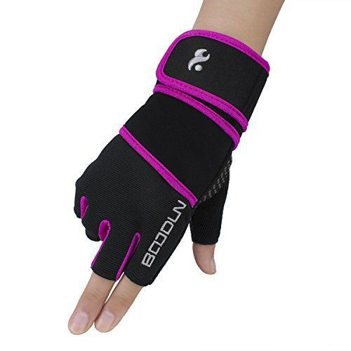 Product review for Boodun Antiskid Weight Lifting Gloves, Half Finger Wrist Wraps Support for Cross Training, Gym Workout, Fitness, Weightlifting, Cycling, Bodybuilding, Best for Women and Men - Antiskid Weight Lifting Gloves, Half Finger Wrist Wraps Support for Cross Training, Gym Workout, Fitness, Weightlifting, Cycling, Bodybuilding, Best for Women and Men Product Warranty: Our gloves will be all shipped directly from Amazon's Warehouse sold by Snow Fox Sports Direct