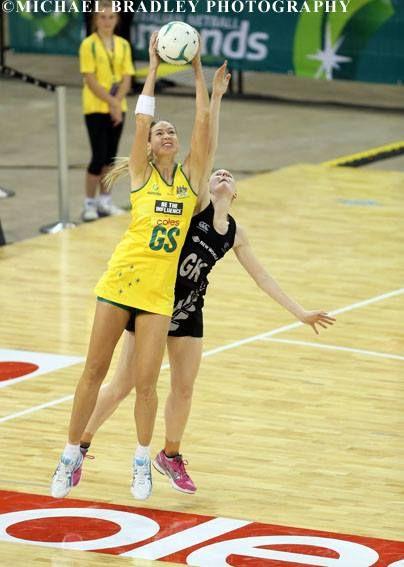 Australian Diamond's Caitlin Bassett
