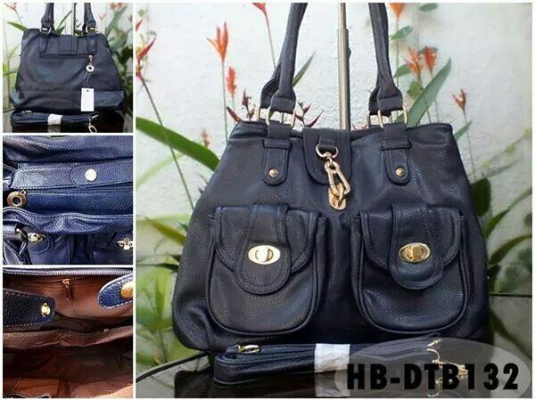 Tas Fashion Import Kode: HB-DTB132 Harga Rp 170.000 DISKON JADI Rp 158.000 (Reseller: 142.200, 2-5pcs; Grosir Rp 130.500,min.6pcs) Uk. 38x 26 x12 cm Bahan: PU, Warna Biru Dongker FOTO&KET.. KLIK >> https://m.facebook.com/photo.php?fbid=765535713478193&id=274517822579987&set=a.338202822878153.82561.274517822579987&refid=56 *) Harga BELUM termasuk ongkir  Beli Online: Kode Tas + Nama + Alamat + No.HP = > Inbox FB: @[274517822579987:] :: = > SMS 08155 012 474 = > WA/LINE 0852 885 886 81 = > BBM…