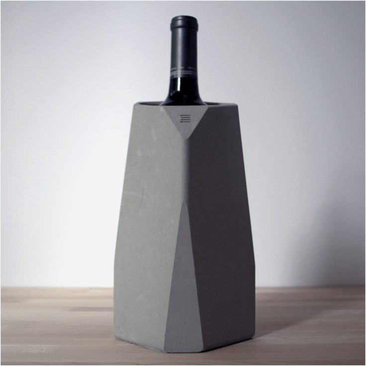 """Sophisticated Corvi Concrete Wine Cooler To Store Your Favorite Vintage 