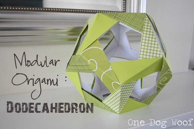 One Dog Woof: The Mathematical Anomalies of a 12-Sided Ball?: Origami Papercraft, Papercraft Modularorigami, Crafts Ideas, 12 Side Ball, Mathematics Anomali, Modular Origami, Paper Dodecahedron, Paper Crafts, Dogs Woof