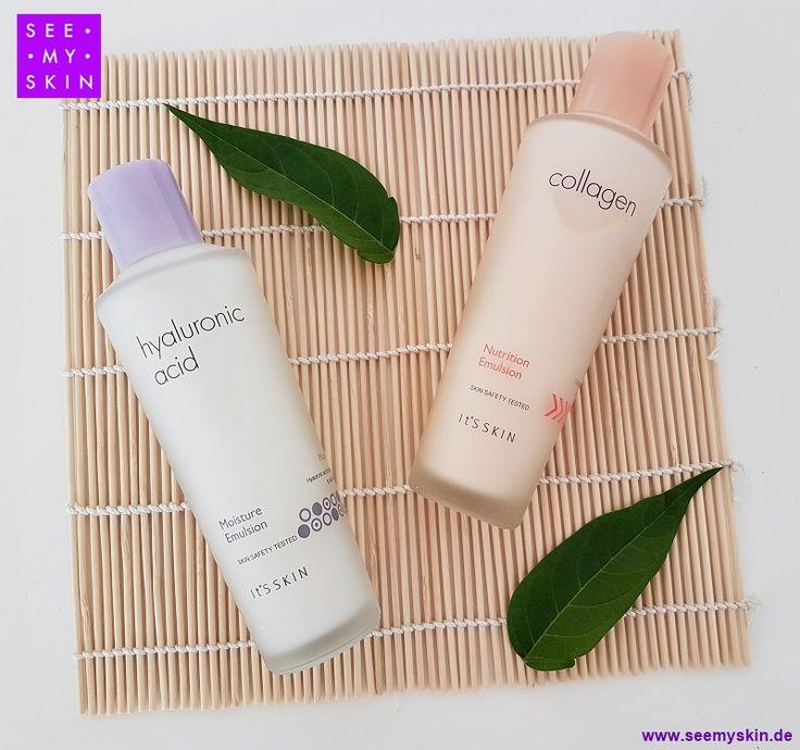 Entdecke die innovative koreanische Hautpflege von IT'S SKIN: Die *Collagen Nutrition Emulsion* und die  *Hyaluronic Acid Moisture Emulsion*. Für alle Hauttypen geeignet. https://www.seemyskin.de/hautpflege/toner-und-emulsion/ #seemyskin #itsskin #itsskinofficial #itsskindeutschland #kbeauty #gesichtslotion #emulsion #kollagen #antiaging #schönheit #koreanischehautpflege #hyaluronsäure #koreanischekosmetik #beauty #asiatischekosmetik #hautpflegeroutine #asiatischehautpflege #koreanbeauty