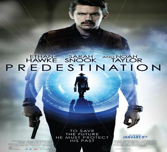 """""""Predestination """" The life of a time-traveling Temporal Agent. On his final assignment, he must pursue the one criminal that has eluded him throughout time."""
