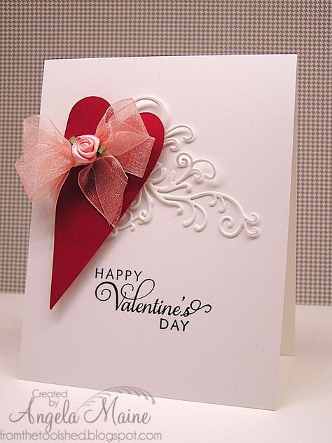 Easy Peasy Valentine | from the tool shed