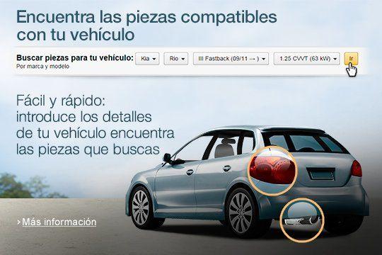 Coche y Moto. Encuentra las piezas compatibles con tu vehículo en Amazon. Precios increíbles!