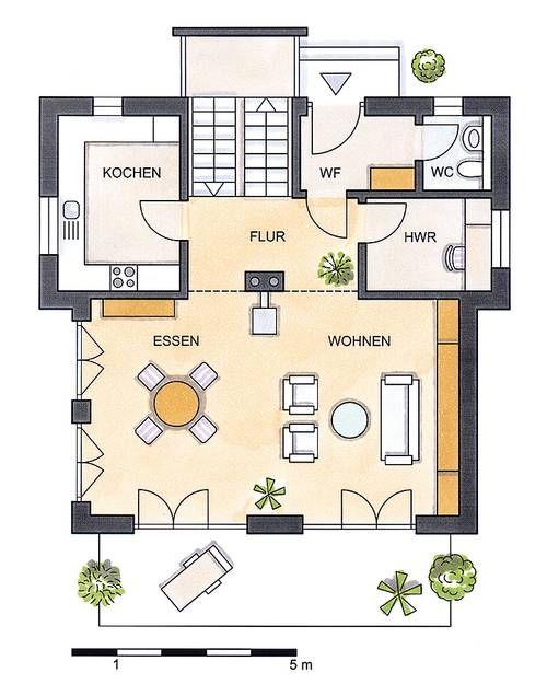 Einfamilienhaus Grundrisse in der Übersicht