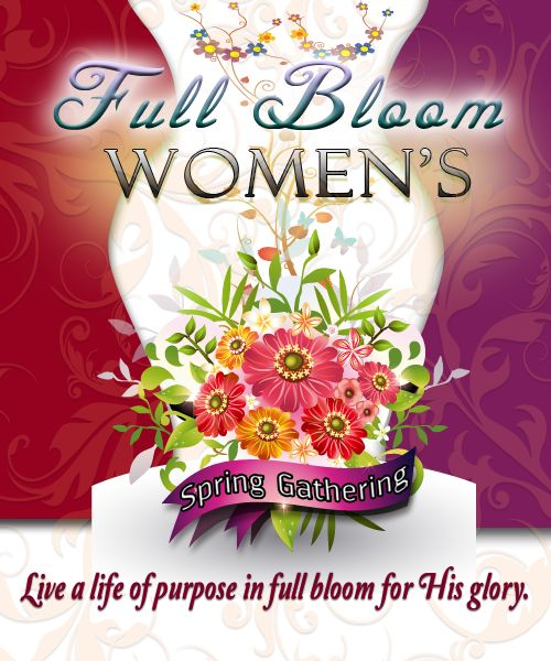 Logo for Womens Ministry Event