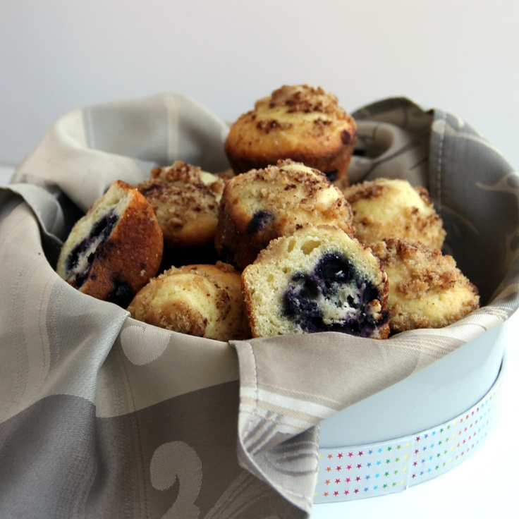 The Growing Foodie: Brilliant Brunch: Buttermilk Blueberry Muffins