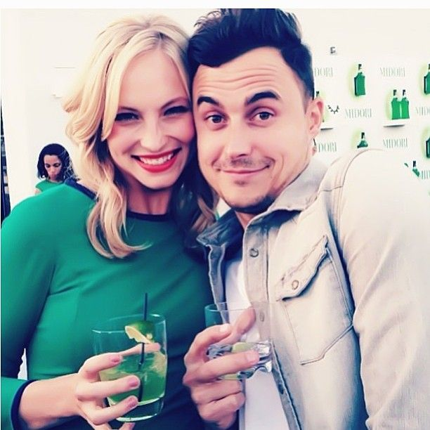 Candice Accola with her fiance Joe King...I still have a hard time accepting this:/