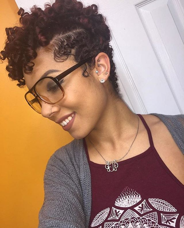 HAIRSPIRATION| @jastanae love your #taperedcut ✂️ and #curls ➰ So pretty ❤️ #voiceofhair