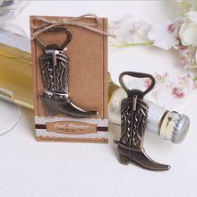 Engraçado Retro bota abridores de garrafa de vinho abridor de vinho de presente 100 pcs(China (Mainland))