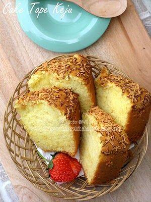 Just My Ordinary Kitchen...: CAKE TAPE KEJU