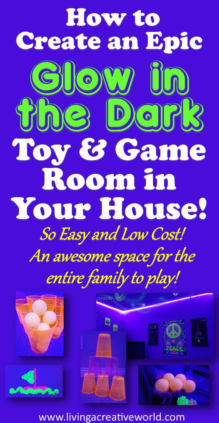 #glowinthedark #glowfunforkids #glowinthedarkgamesforkids #blacklight activities