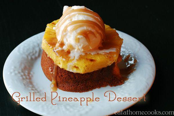 grilled pineapple dessert