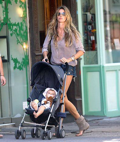 Gisele Bundchen at 31: Hottest Mom Ever!: Model Mom