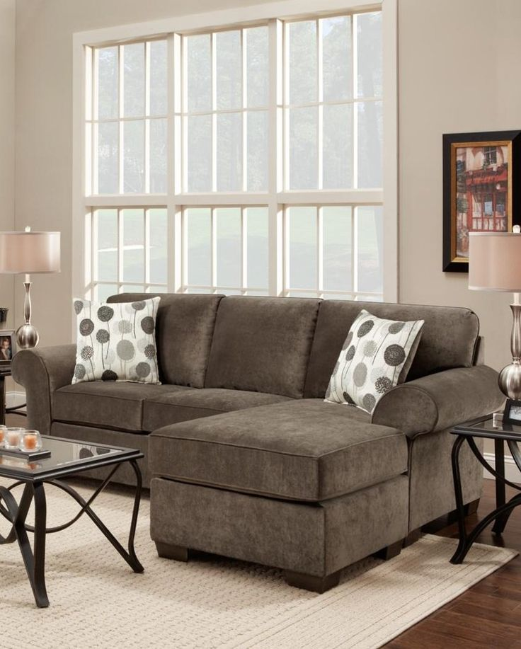 Amazon.com - Chelsea Home Furniture Worcester Sofa Chaise, Elizabeth Ash - Sofa With Chaise