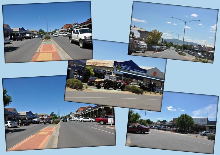 Corryong - a small regional town in Victoria, Australia.  READ BLOG POST: http://livinginballan.blogspot.com.au/2013/01/corryong-small-regional-town-in.html
