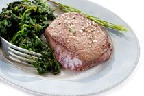 25 minutes Steak and Spinach Recipe