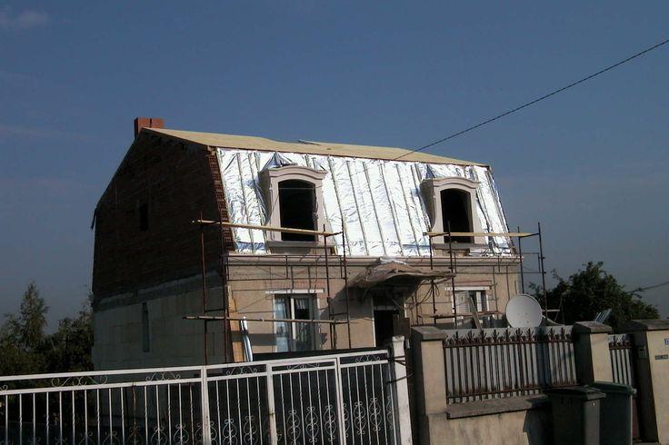 travaux d'isolation : isolation de tout le premier étage // TEXAS Bâtiment - texasbatiment@orange.fr - Tél 0141810290