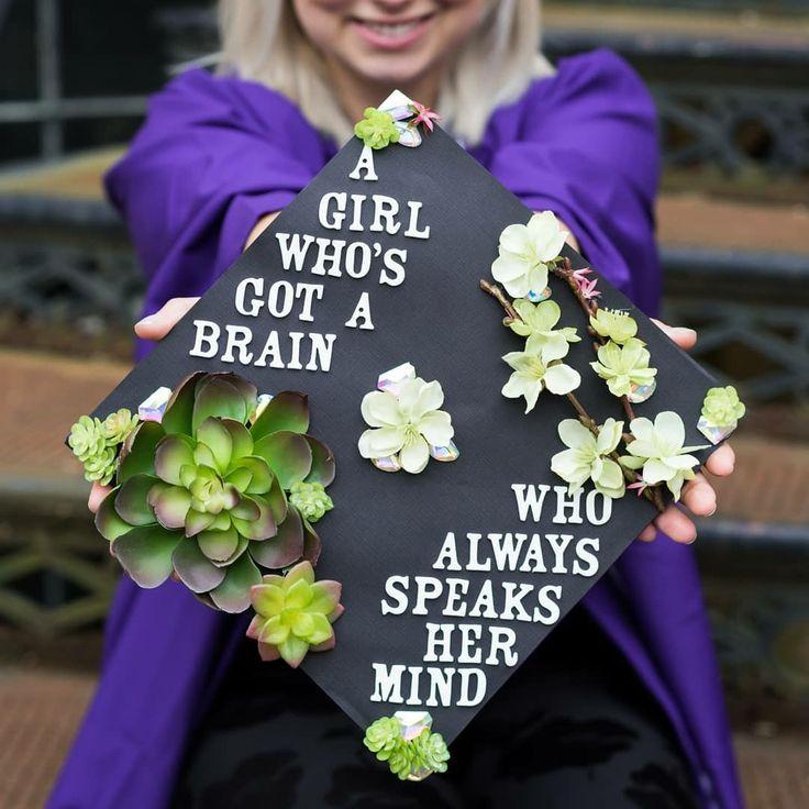 Mulan Graduation Cap Disney Graduation Cap Feminist Graduation Cap