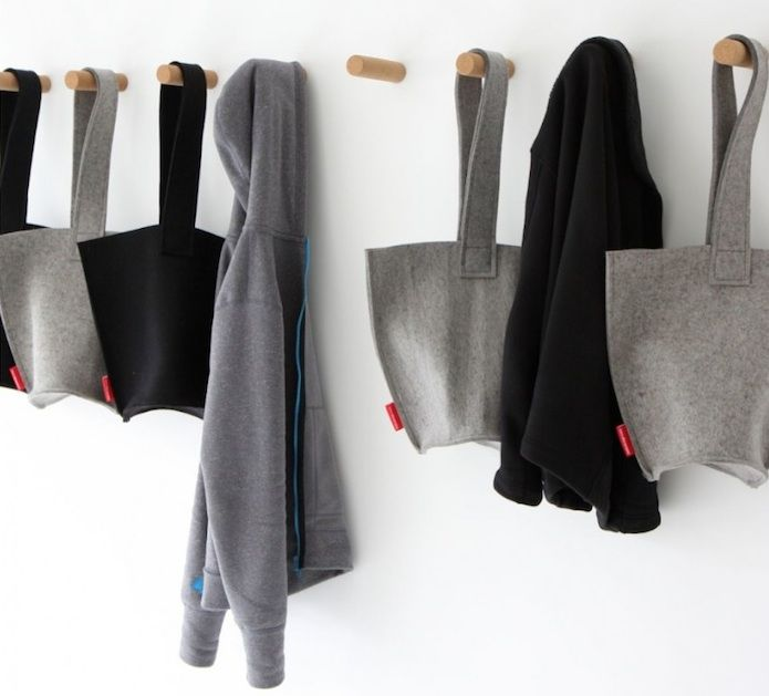 What is it about cork that is so appealing (perhaps it's the association with wine)? From Vancouver-based design studio Molo, the simple Cork Peg is ideal for hanging jackets and sweaters or small tools and supplies.