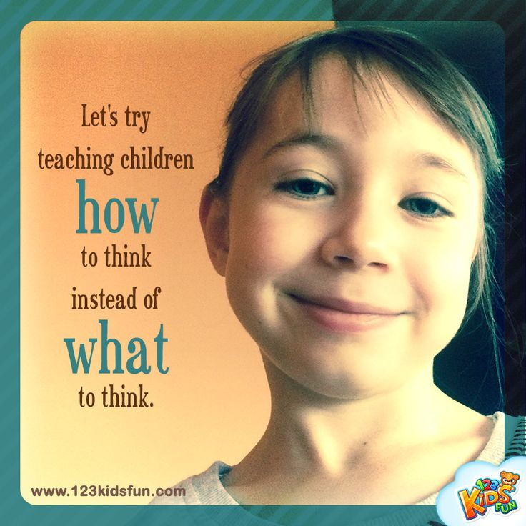 Let's try teaching children... #quotes #teaching #mlearning #children