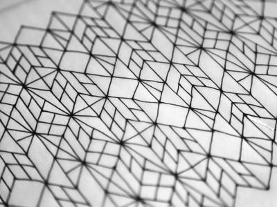 #pattern #line drawing
