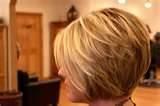 Cute Layered Bob Hair Style