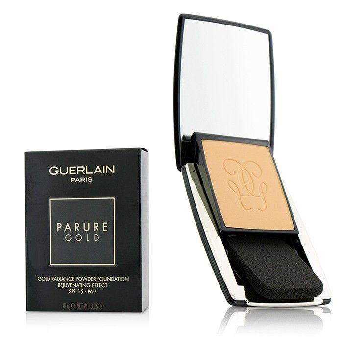 Guerlain - Parure Gold Омолаживающая Сияющая Пудровая Основа SPF 15 - # 12 Rose Clair 10g/0.35oz - Косметика для Всех - Cosmeticall.com.ua