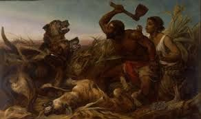 'The Hunted Slaves' 1861 - International Slavery Museum, Liverpool museums Images may be subject to copyright.