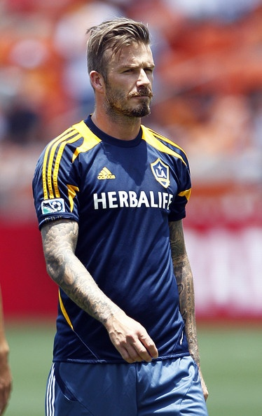 David Beckham Photo - Los Angeles Galaxy v Houston Dynamo