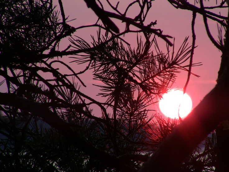 Sunset in Naantali